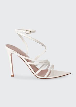 Gianvito Rossi 105mm Strappy Patent Sandals