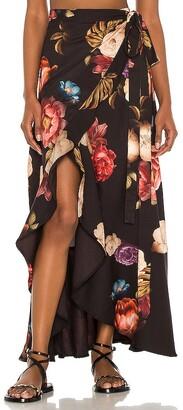 Agua Bendita Brasil Shade Wrap Skirt