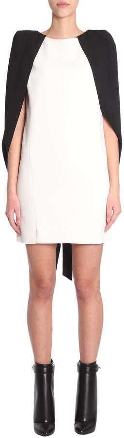 Givenchy Mini Cape Dress