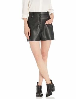 BCBGMAXAZRIA Women's Faux Leather Short