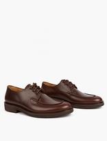 A.p.c. Brown Octave Derby Shoes