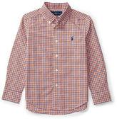 Ralph Lauren Childrenswear Poplin Plaid Shirt
