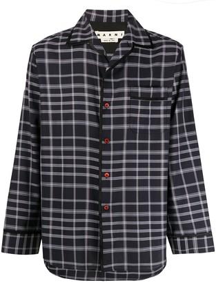 Marni Check Pyjama Shirt