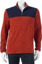 Croft & Barrow Men's Classic-Fit Textured Arctic Fleece Quarter-Zip Pullover