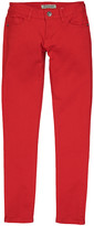 Couture Miss Kitty Women's Denim Pants and Jeans Red - Red Low-Rise Skinny Jeans - Juniors