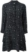 Equipment stars print shift dress - women - Silk - S