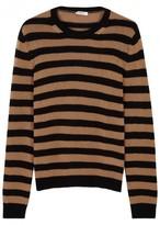 Valentino Striped Chunky-knit Cashmere Jumper