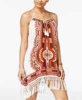American Rag Juniors' Fringe-Trim Slip Dress, Only at Macy's