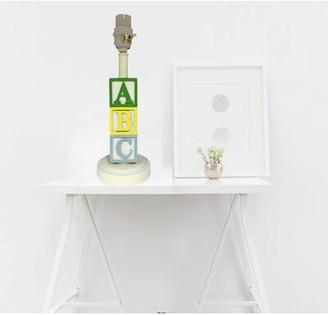 "Creative Motion ABC Base Boy 13.25"" Table Lamp Base Creative Motion"