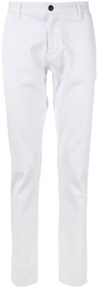 Emporio Armani Logo Plaque Trousers