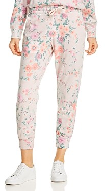 Sundry Floral Printed Jogger Pants