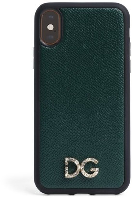 Dolce & Gabbana Leather iPhone X/XS Case