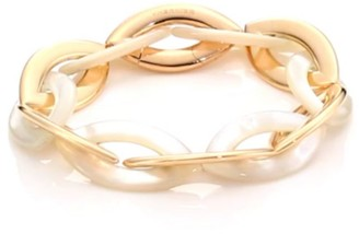 Mother of Pearl Doppio Senso 18K Rose Gold & Mother-of-Pearl Marquis Chain Bracelet