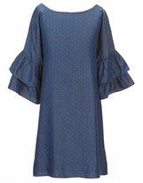 Copper Key Big Girls 7-16 Ruffle-Sleeve Dress