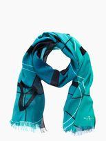 Kate Spade Film strip scarf