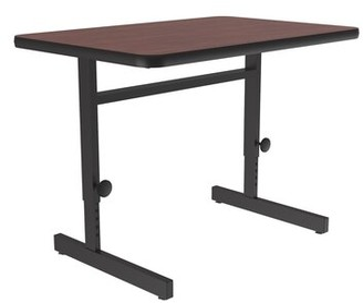 Correll, Inc. Work Station High-Pressure Laminate Top Particle Board Core Desk