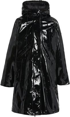 Moncler Pott Hooded 3-In-1 Coated-Vinyl Down Raincoat
