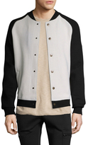 Scotch & Soda Knitted Inbetween Bomber Jacket