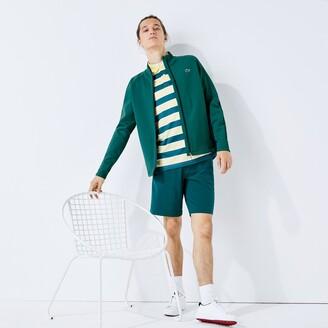 Lacoste Men's SPORT Ergonomic Stretch Zip Golf Sweatshirt