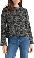 Madewell Button Shoulder Wide Sleeve Top