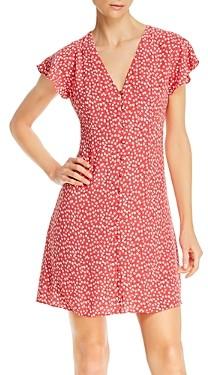 Rails Helena Floral Button-Front Dress