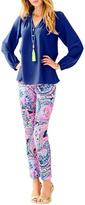 Lilly Pulitzer Elsa Blue Top