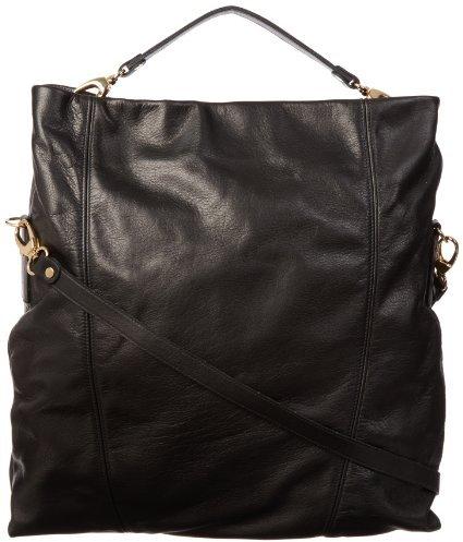Pietro Alessandro 4009 Black Matte Shoulder Bag