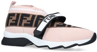 Fendi Fabric Logo Sneakers