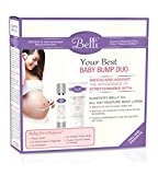 Belli Your Best Baby Bump Duo - Safeguard Against the appearance of Stretch marks and comfort dry skin with Elasticity Belly Oil and All Day Moisture Body Lotion