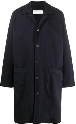 Societe Anonyme Oversized Single-Breasted Coat