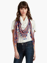 Lucky Brand Deco Diamond Square Scarf