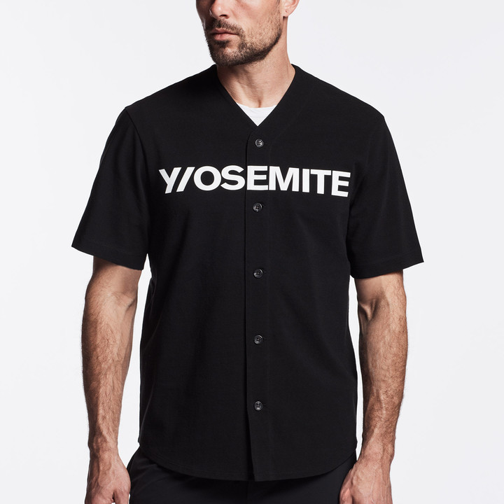 James Perse Y/Osemite Graphic Baseball Jersey
