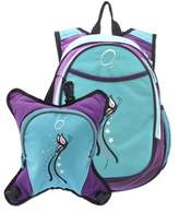 Obersee Innsbruck Diaper Bag Backpack with Detachable Cooler (Butterfly)
