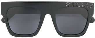 Stella Mccartney Eyewear Square Tinted Sunglasses