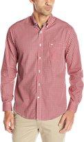 Dockers Long Sleeve Gingham Cvc Woven Shirt