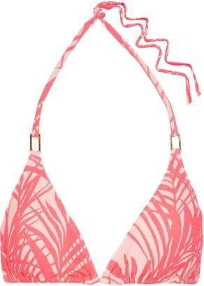 Melissa Odabash Cancun Leopard-print Triangle Bikini Top