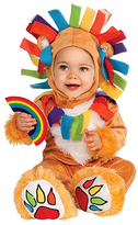 Rubie's Costume Co Brown Lucky Lion Dress-Up Set - Infant