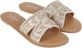 Monsoon Bonnie Embroidered Dressy Mule Sandals