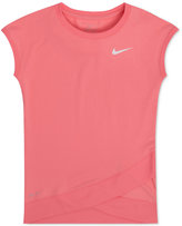 Nike Dri-FIT Crossover T-Shirt, Toddler & Little Girls (2T-6X)