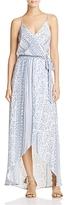 Olivaceous Bandana Print Maxi Dress