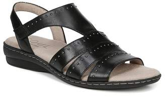 Naturalizer SOUL Beacon Ankle Strap Leather Sandal - Wide Width Available