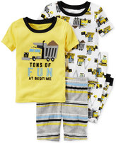 Carter's 4-Pc. Tons of Fun Pajama Set, Little Boys (2T-7) & Big Boys (8-20)