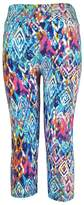 Changeshopping High Waist Fitness Yoga Jogging Sport Pants Printed Stretch Cropped Leggings