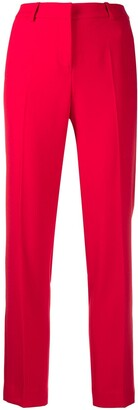 Ermanno Ermanno Cropped Tailored-Cut Trousers
