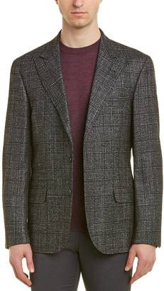 Brunello Cucinelli Wool & Silk-Blend Blazer