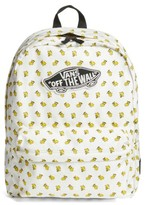 Vans Boy's X Peanuts Woodstock Backpack - White