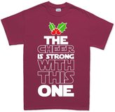 Customised Perfection The Cheer Force Is Strong Christmas Xmas Gift T Shirt XL