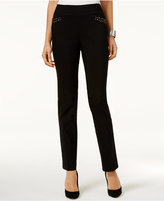 JM Collection Studded Pull-On Pants, Only at Macy's