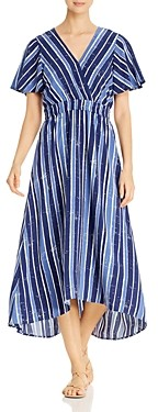 Tommy Bahama Striped High/Low Dress