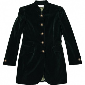 Georges Rech Green Cotton Jacket for Women Vintage